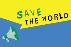 Essay on save earth in 200 words